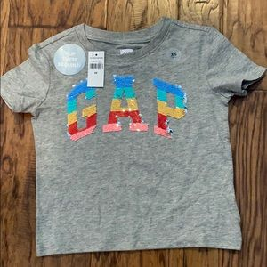 Gap Kids Flippy Sequin Tee